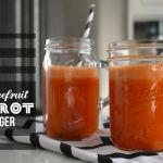Grapefruit Carrot Ginger Juice