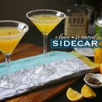 Clove-Scented Sidecar