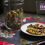 Dry Roasted Edamame w/ Cranberries
