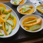 Mango Apple Salad w/ Sugared Lime Zest