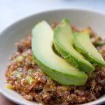 Quinoa & Avocado Salad with Dried Fruits