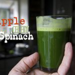 Apple Celery Spinach Juice
