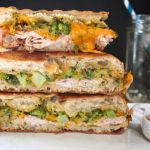Turkey Broccoli Cheddar Panini