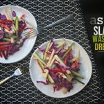 Asian Slaw w/ Wasabi Soy Dressing