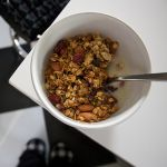 Nutty Cranberry Granola