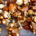 Coconut + Almond Caramel Corn