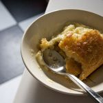 Custard Filled Corn Bread