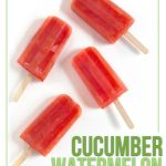 Cucumber Watermelon Popsicles
