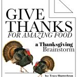 A Thanksgiving Brainstorm