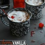Cherry Vanilla Hot Chocolate