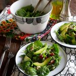Spinach Salad with Dukkah