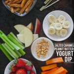 Salted Caramel Peanut Butter Yogurt Dip