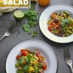 Spicy Corn Tomato Avocado Salad
