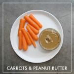 Carrots + Peanut Butter