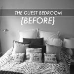 Around the House: Guest Bedroom {BEFORE!}