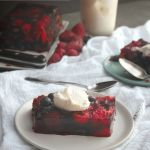 Triple Berry Terrine