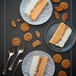 Pumpkin Gingersnap Ice Cream Cake