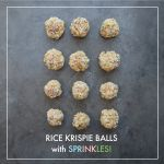 Rice Krispie Balls with Sprinkles