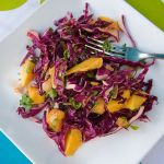 Asian Inspired Mango Orange Slaw