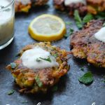 Zucchini Herb Fritters