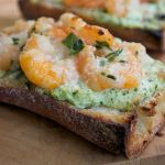Shrimp Scampi Pizza Bread