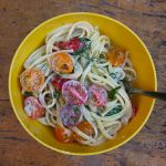 Herb Butter & Goat Cheese Linguine