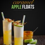 Caramel Apple Floats