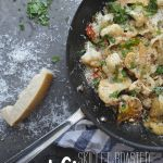 Skillet Roasted Cauliflower with Breadcrumbs