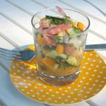 Shrimp Cucumber Mango Salad