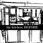 Around the House: Kitchen {BEFORE}