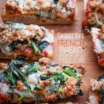 Sausage Kale French Bread Pizza