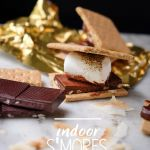 Indoor S'mores Party