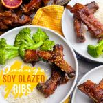 Orange Soy Glazed Ribs