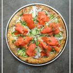 Lox Bagel Pizza