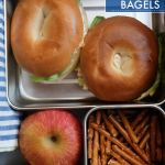 Veggie Cream Cheese Bagels