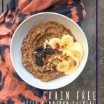 Grain Free Cinnamon Apple Oatmeal