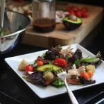 Chicken Avocado BLT Salads