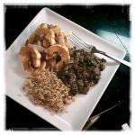 Black Beans with Kale & Roasted Squash