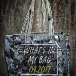 What's in my Bag - 09/2017