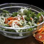 Arugula Fennel & Orange Salad