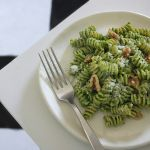 Kale Walnut Pesto Pasta