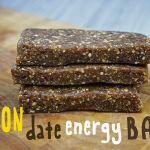 Lemon Date Energy Bars