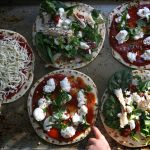 Quick Dinner Idea: Pizza & Salad