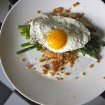 Pan Roasted Asparagus with Fried Eggs