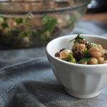 Chickpea & Raisin Salad