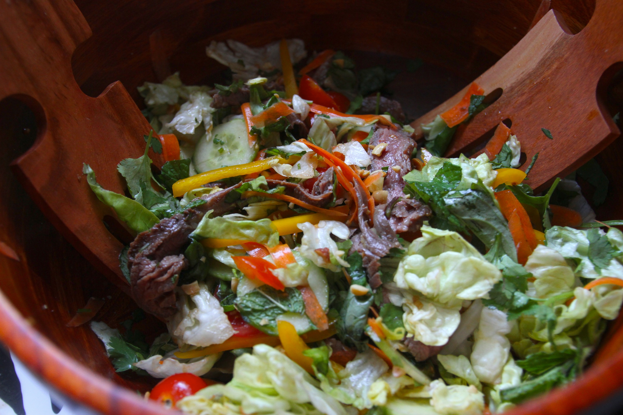 And you have a Thai Beef Salad with Herbs.