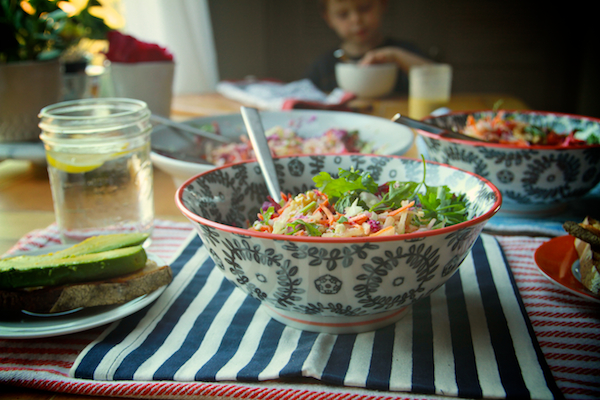 Shredded Rainbow Salad