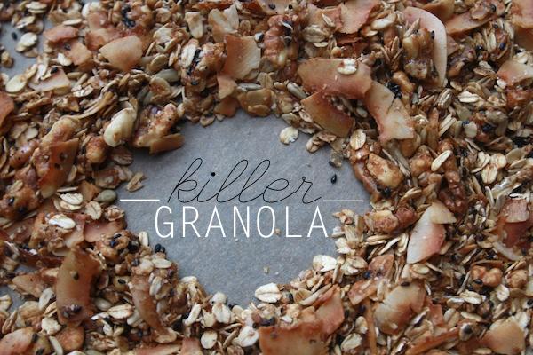 KILLER GRANOLA // shutterbean