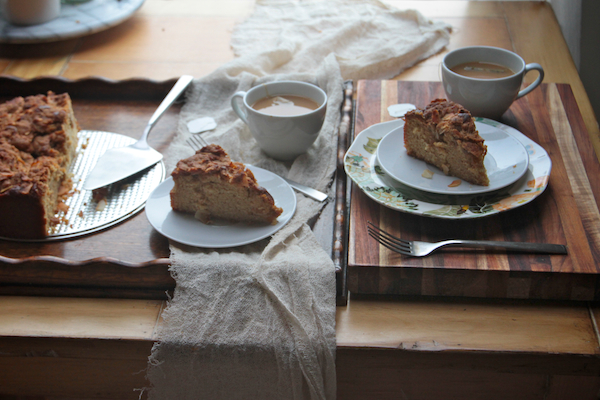 Coconut Chai Coffee Cake