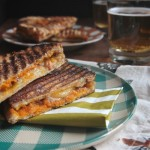 PUMPKIN GRILLED CHEESE with HAZELNUT BUTTER // shutterbean